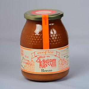 miel monofloral del brezo ecológica