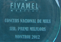Premio miel Milflores fivamel